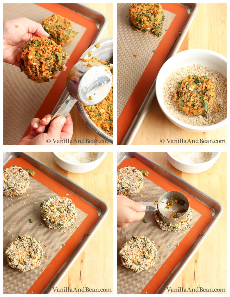 Sweet Potato Burger   VanillaAndBean.com