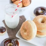 Vanilla Bean and Buttermilk Baked Doughnuts