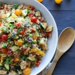 Market Quinoa Salad with Fresh Mozzarella