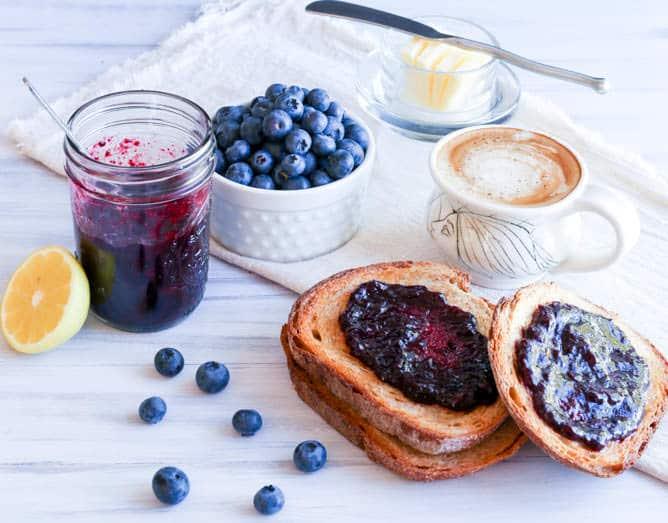Blueberry Jam - Vanilla And Bean
