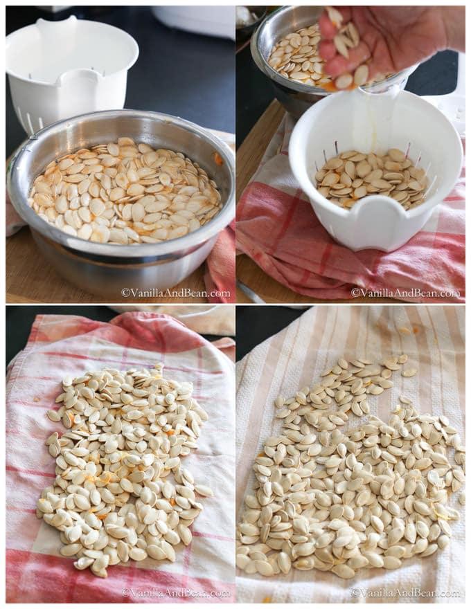 How to Make Pumpkin Puree + How to Roast Pumpkin Seeds | Vanilla And Bean