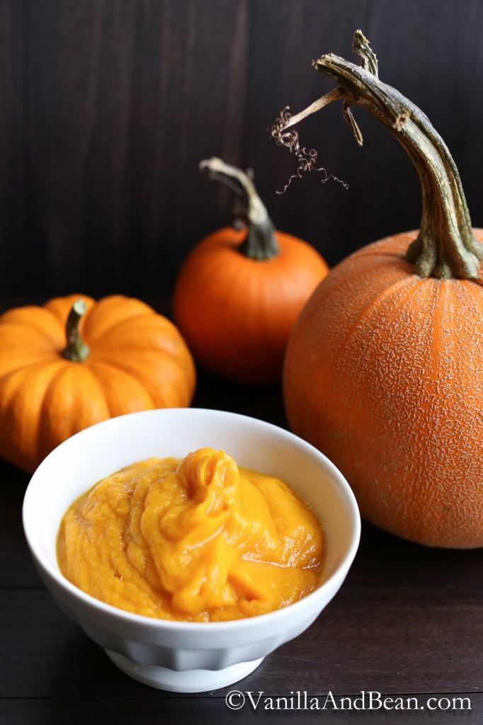 How to Make Pumpkin Puree + How to Roast Pumpkin Seeds| Vanilla And Bean