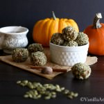 Pumpkin Kasha Energy Bites {V+GF} | Vanilla And Bean