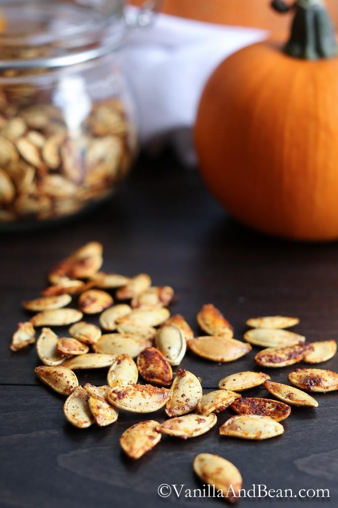 How to Roast Pumpkin Seeds | Vanilla And Bean