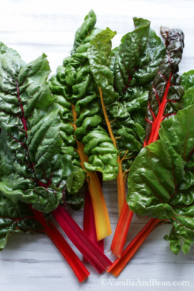 Swiss Chard for the Chocolate Green Super Smoothie