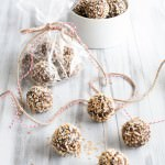 Bourbon Date Nut Truffles {V + GF}| Vanilla And Bean