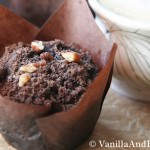 Double Chocolate Muffins with Zucchini and Chocolate Pecan Streusel