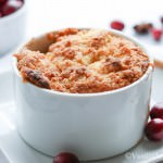 Bourbon Apple Cranberry Cobbler with Anise and Vanilla Bean