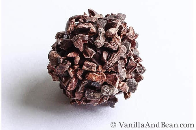 Boozy Chocolate Bon Bon | VaniillaAndBean.com