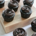 Perfect Chocolate Espresso Cupcakes served and ready for consumption