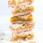 Orange Crumble Tart with Vanilla Bean | VanillaAndBean.com