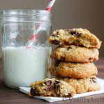 Coconut Macadamia Nut Chocolate Chip Cookies | VanillaAndBean.com
