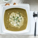 Coconut Curried French Lentil Soup {Vegan} | Vanilla And Bean