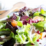 Winter Jeweled Salad with Citrus Balsamic Vinaigrette | VanillaAndBean.com
