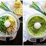 Vegan Garlic Scape Pesto | Vanilla And Bean
