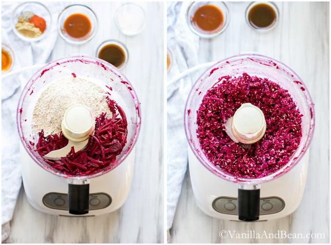 Smoky Quinoa, Beet Veggie Burgers | Vanilla And Bean