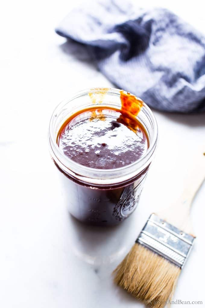 Homemade Bourbon BBQ Sauce Recipe