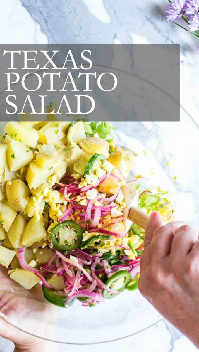 Texas Potato Salad Pinterest Pin