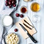 Bourbon Soaked Cherry Vanilla Bean Ice Cream #Vegan   Vanilla And Bean