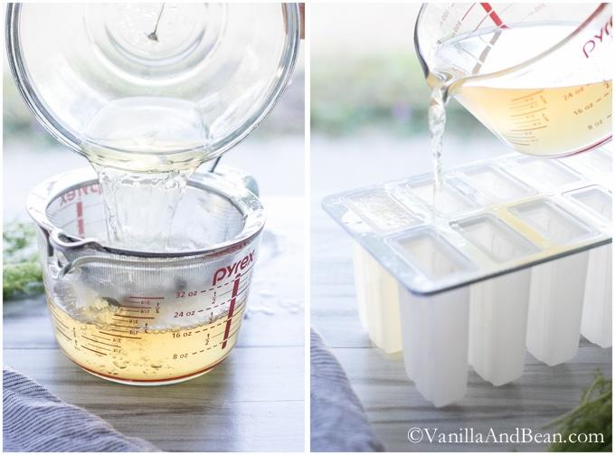 Honey Chamomile Popsicles | Vanilla And Bean