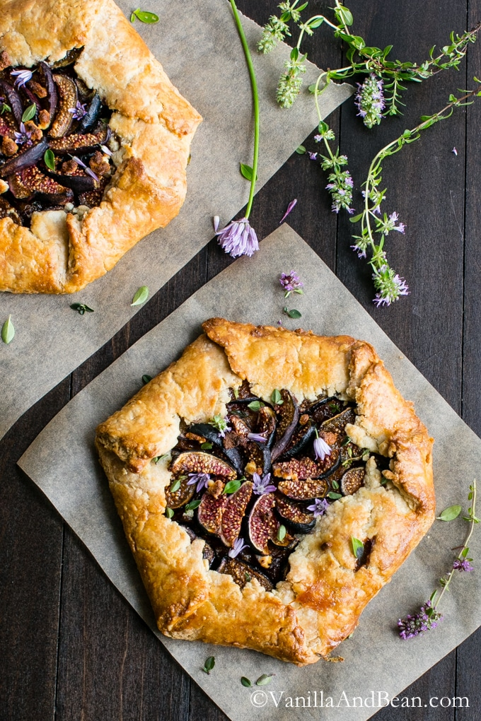 Caramelized Onion and Fig Galette Savory Pastry Recipe | 20 Recipes To Make With Goat Milk