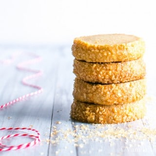 Bourbon and Vanilla Shine in this buttery short bread treat. Easy to make, and makes a fabulous gift!   Vanilla And Bean