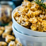 Rosemary Stout Caramel Popcorn | Vegan + Gluten Free | Vanilla And Bean