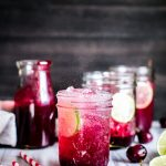 Make a big batch or single serve, this Honey Sweetened Fresh Cherry Limeade is refined sugar free, zesty and SO refreshing!