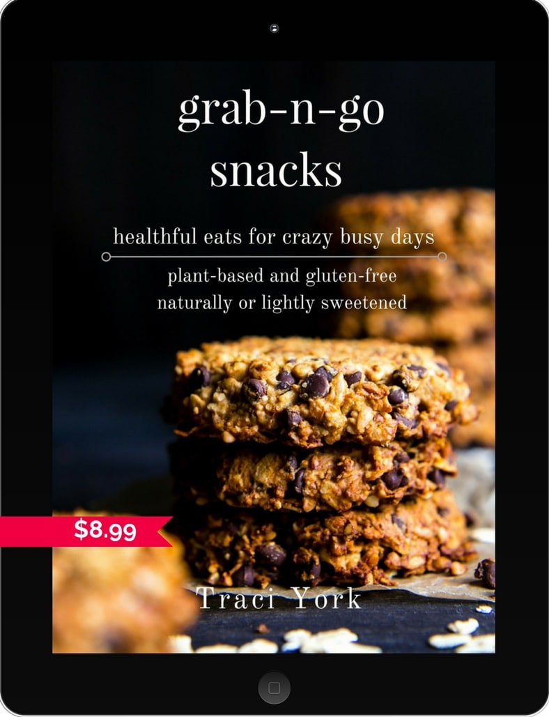 Grab-n-Go Snacks; healthful eats for crazy busy days