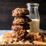 Teff is an ancient, tiny grain that imparts warm, earthy, caramel notes to these chewy cookies. Teff Oatmeal Cookies with Whiskey Currants are quick to whip up and a dream to eat. Gluten Free