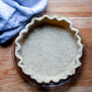 So flakey and tastes amazing! Vegan Coconut Oil Pie Dough Recipe + Tutorial with Video! | Dairy Free