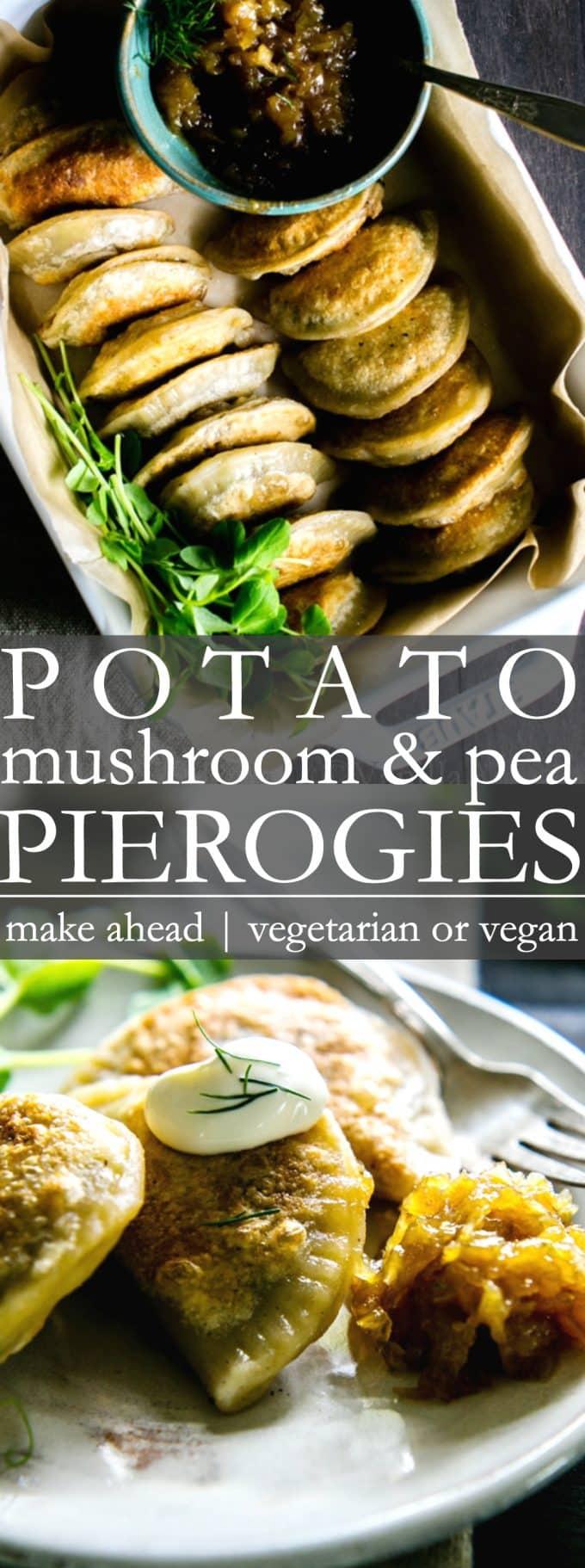 Vegetarian or Vegan Pierogies
