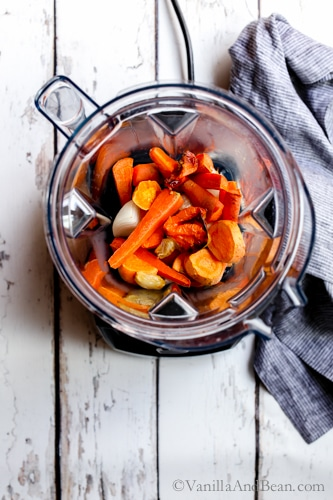 Get your burn on with Roasted Habanero Carrot Salsa, an easy, make ahead, mouthwatering salsa for all your dippin' needs. So rich and flavorful, you'll go back again and again for more! V + GF