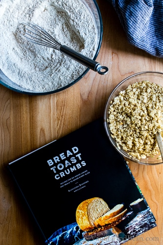 A fabulous breakfast bread, A sturdy-chewy yeasted bread with a hearty crumb; Oatmeal-Maple Bread comes from Alexandra Stafford's debut cookbook Bread Toast Crumbs