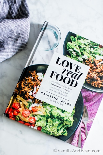 Snapshot of from Kathryne Taylor's new cookbook Love Real Food