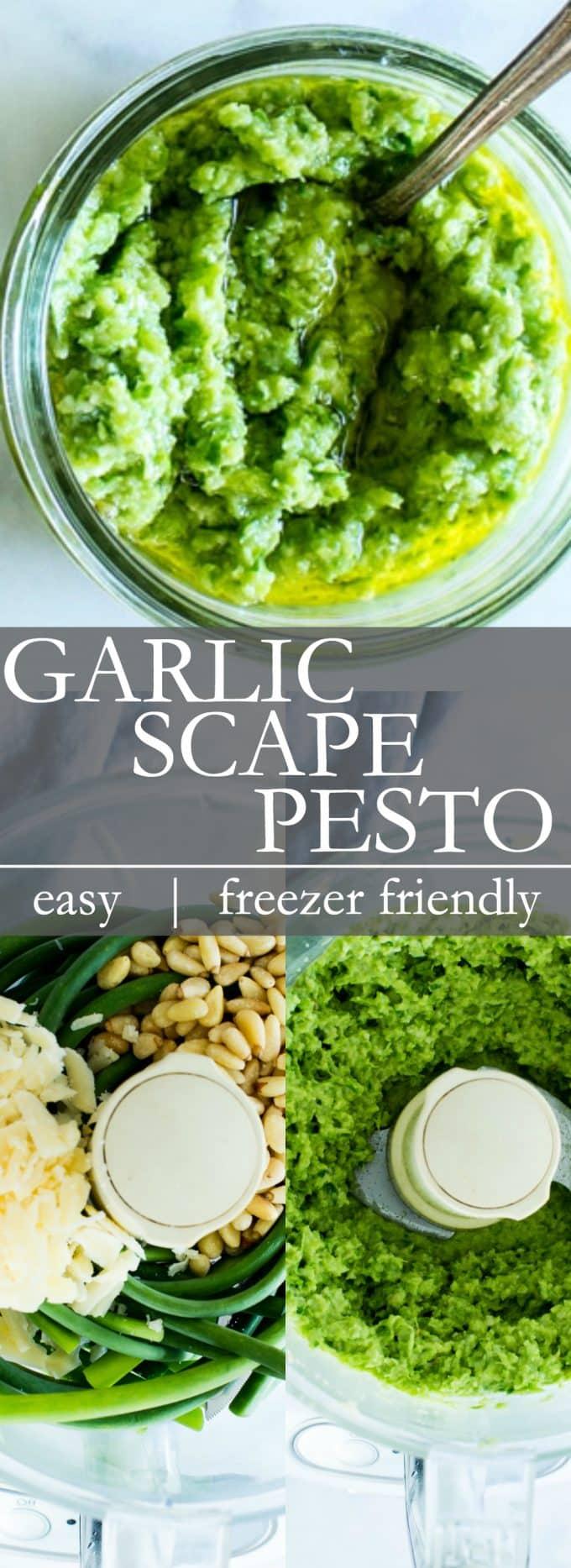 Garlic Scape Pesto Pin