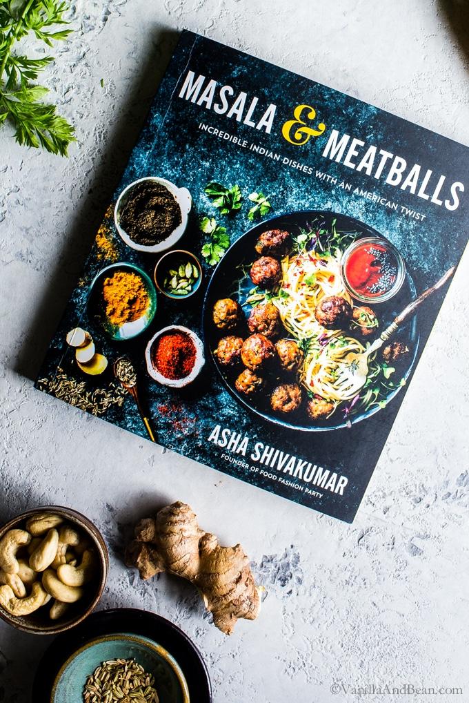 Masala & Meatballs Cookbook Cover