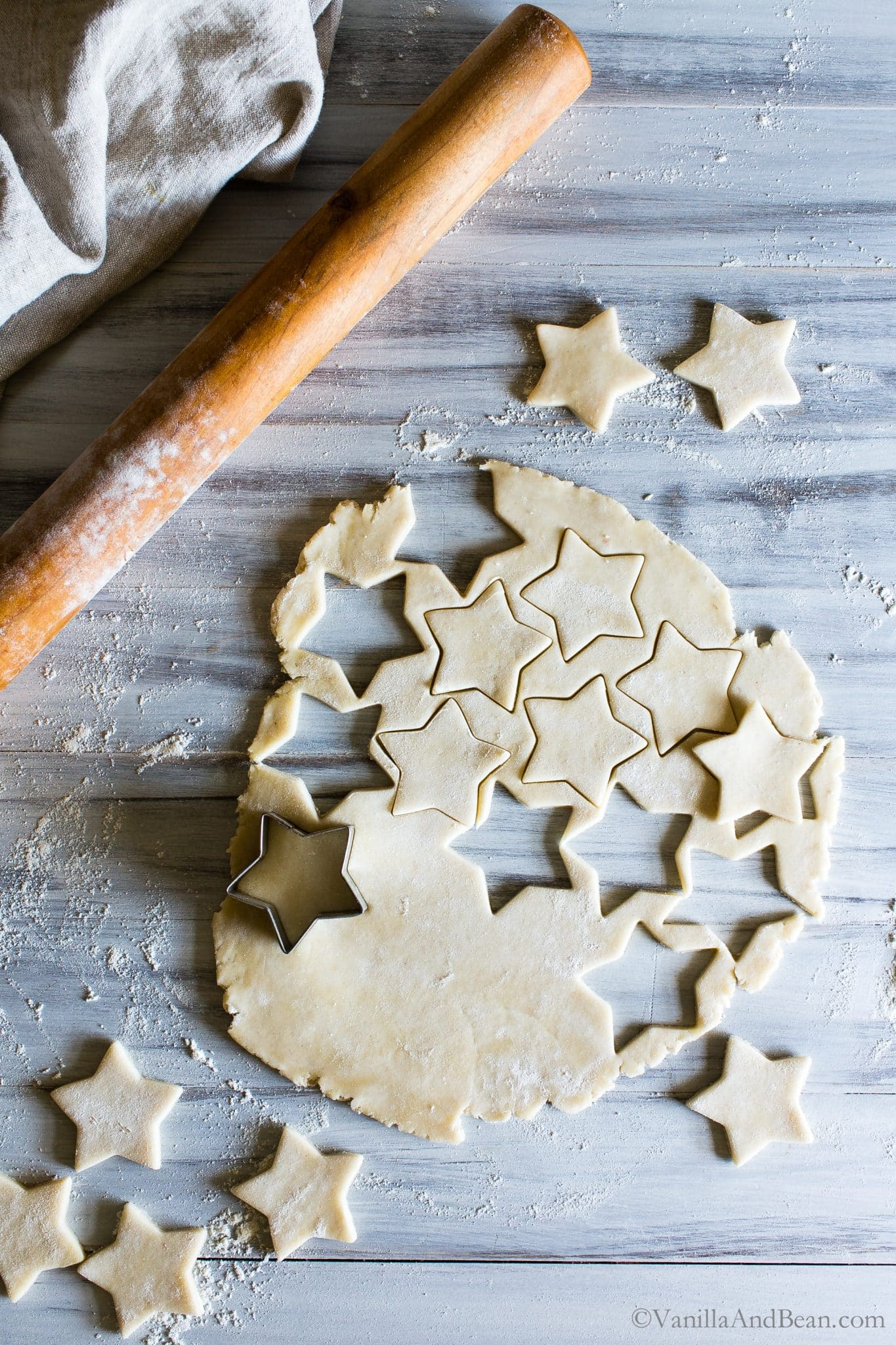 Pie Pastry Star Cutouts for the parfaits.