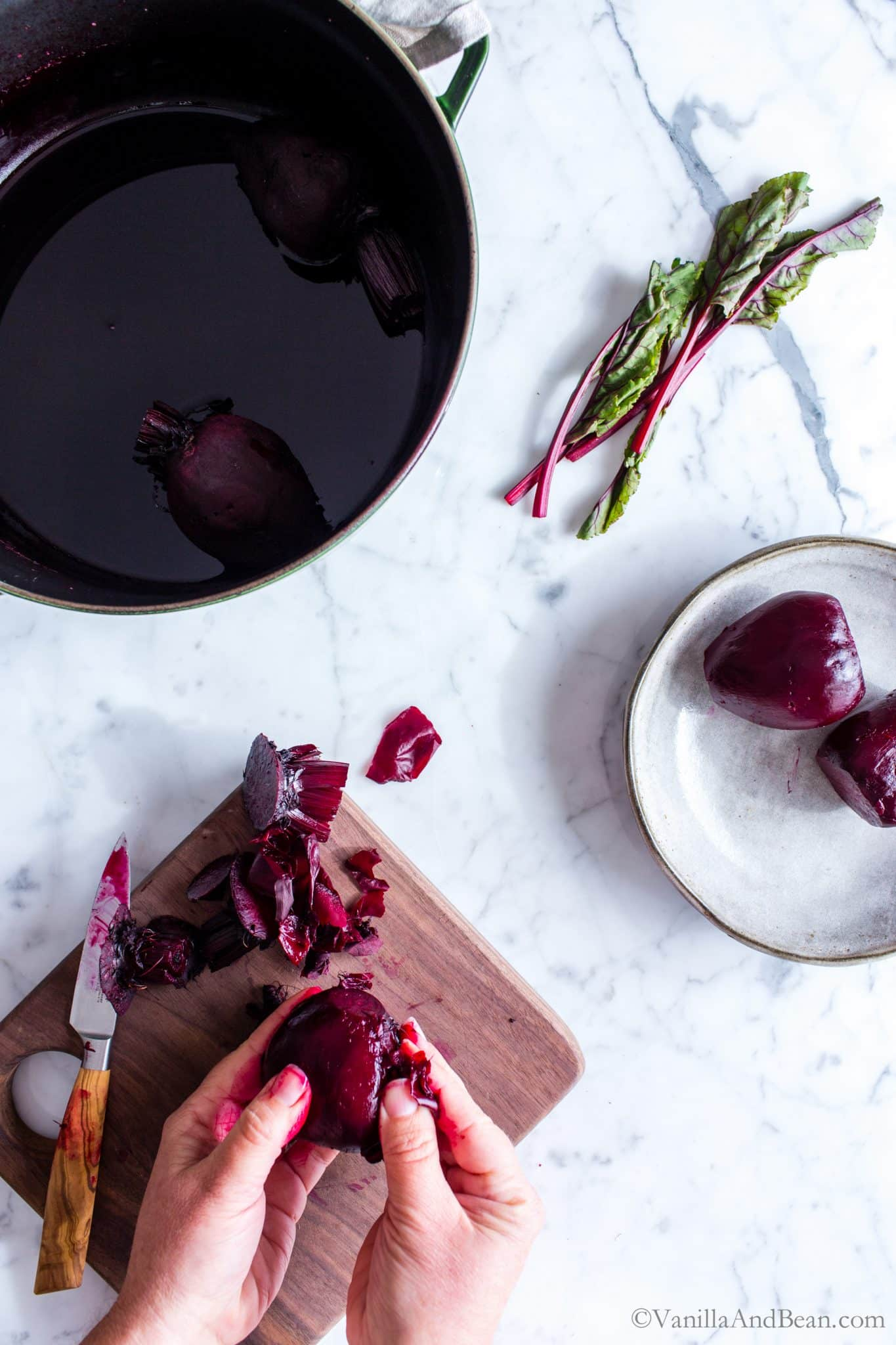 A favorite root vegetable for salads, pickling, smoothies, dips or snacking, I'm sharing  my best tips for How to Roast Beets using a simple, no waste method.
