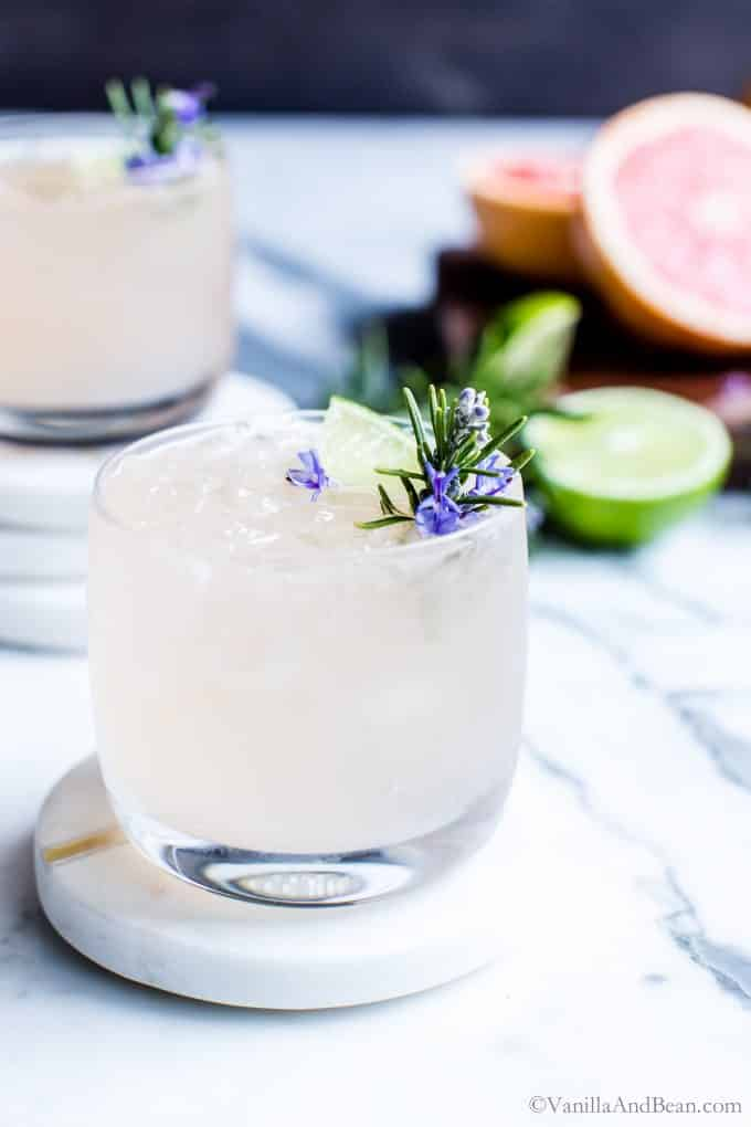 Rosemary Grapefruit Moscow Mule Vanilla And Bean