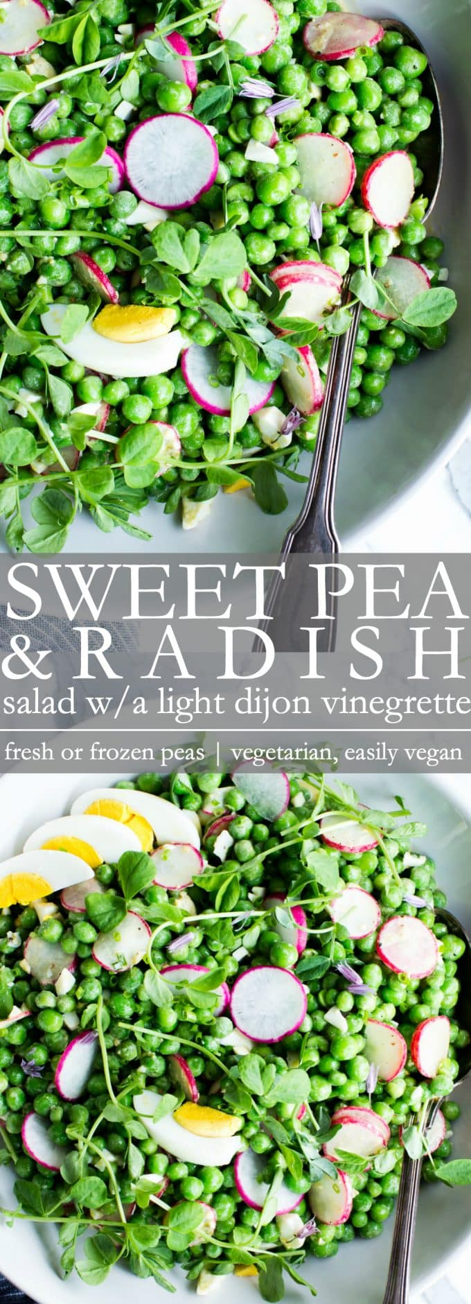 Healthy Pea Salad