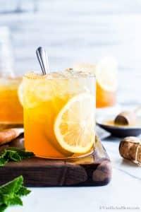 Prosecco and vodka Cocktail