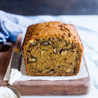 Gluten Free Zucchini Bread Almond Flour Recipe