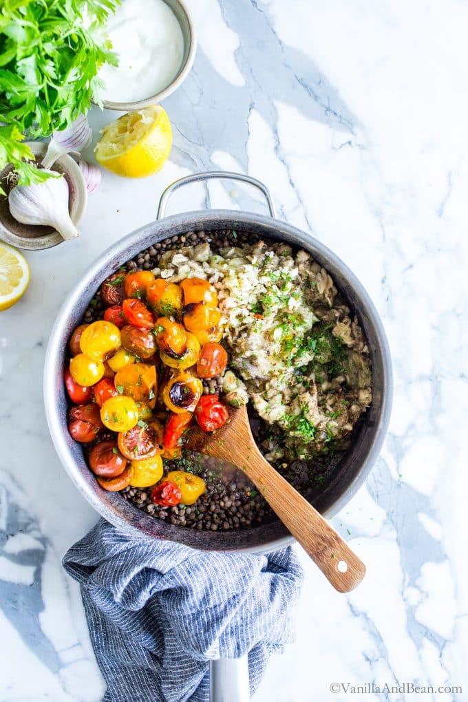 Mediterranean Lenils Recipe