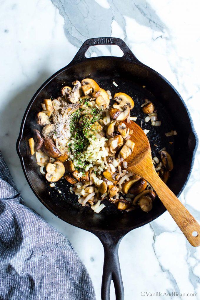 Mushroom Sautee