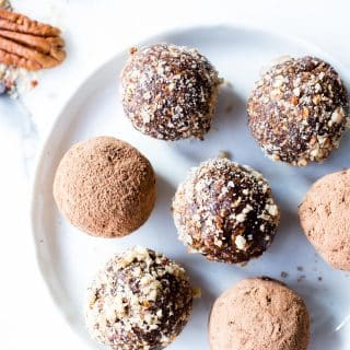 Chocolate Pecan Pie Bliss Balls