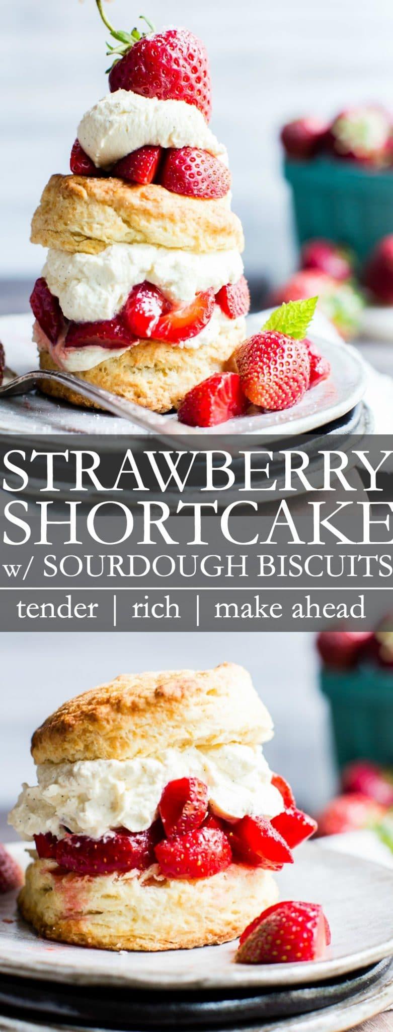 Strawberry Shortcake Pin for Pinterest