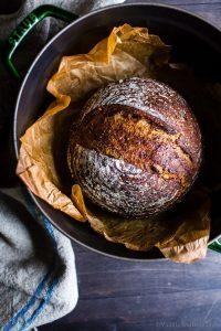 Sourdough Boule in a Dutch Oven