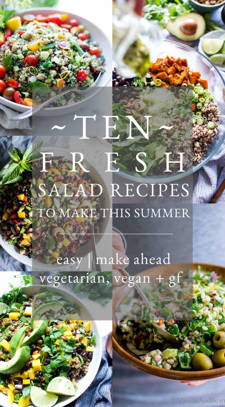 Ten Fresh Salad Recipes Internal Linked Banner